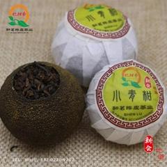 忆柑香品牌三江小青柑普洱茶加工批发