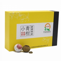 新會和茗陳皮茶業小青柑茶100g彩盒