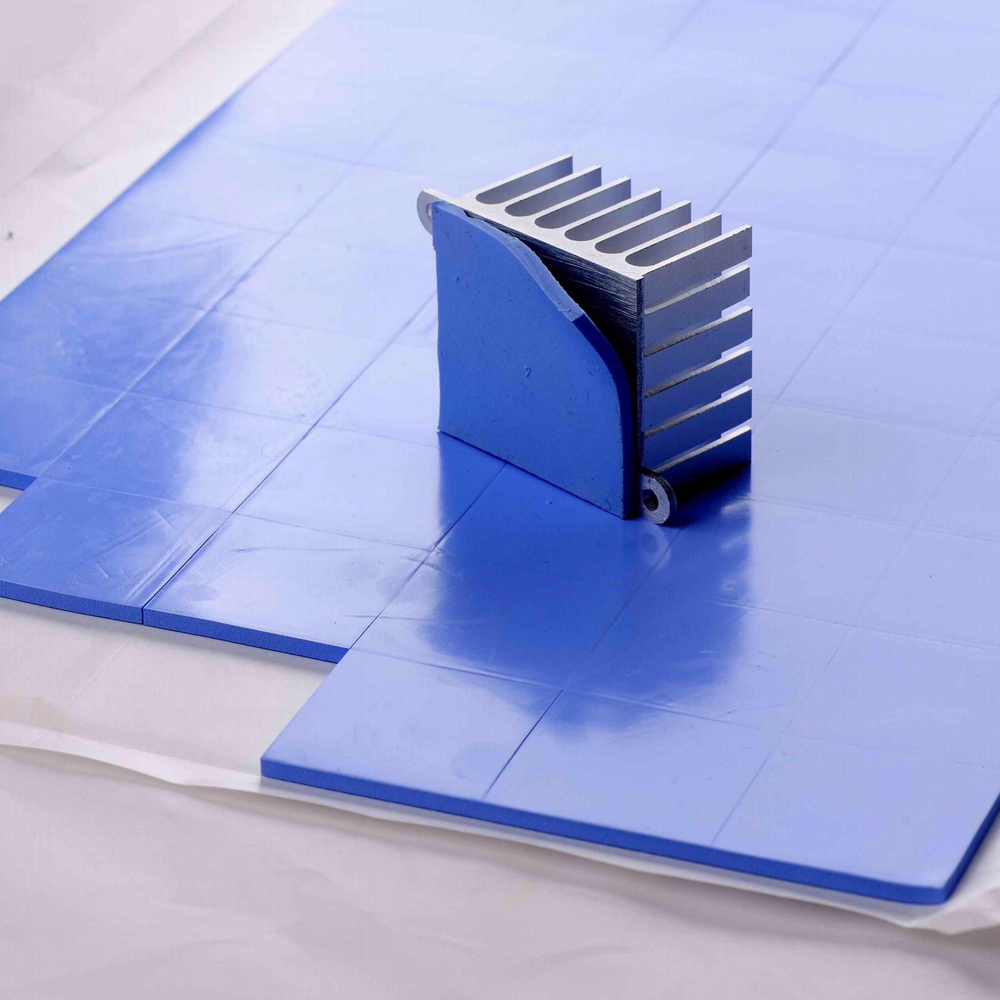 現貨供應高導熱硅膠片  LED硅膠絕緣片 硅脂絕緣墊 1