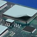 現貨供應高導熱硅膠片  LED硅膠絕緣片 硅脂絕緣墊 3
