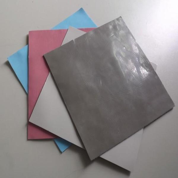 現貨供應高導熱硅膠片  LED硅膠絕緣片 硅脂絕緣墊 4