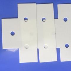 供應氧化鋁陶瓷片 陶瓷絕緣片 光伏電源絕緣導熱材料