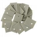 定做高導熱氮化鋁陶瓷片變頻器電源絕緣片  2