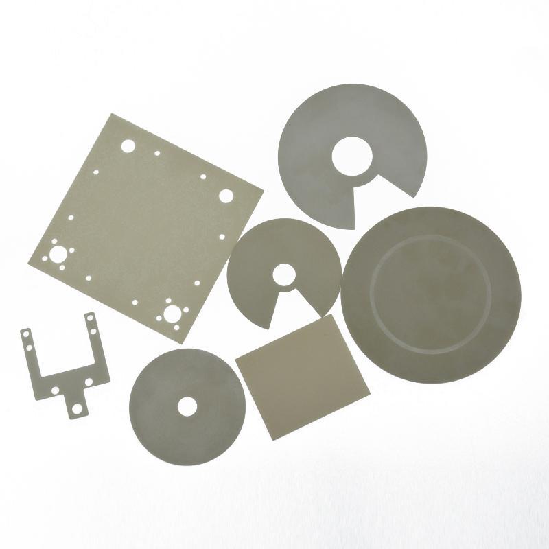 生產高導熱氮化鋁陶瓷片 UPS電源ALN絕緣片 4