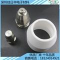 氧化鋁陶瓷精加工 異形功能耐磨件定做 2