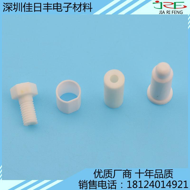 氧化鋁陶瓷精加工 異形功能耐磨件定做 5