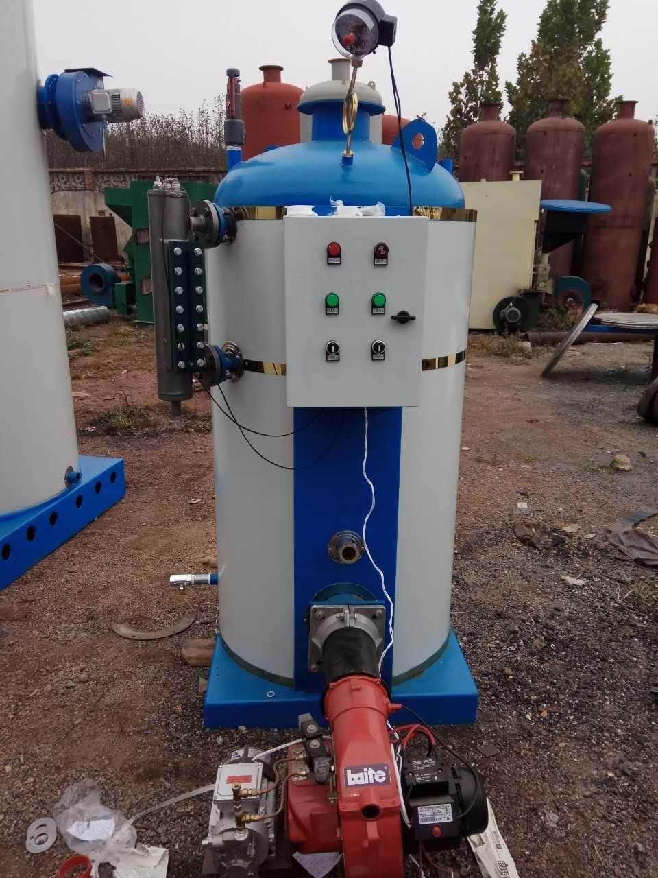 全自动燃油蒸汽锅炉 3