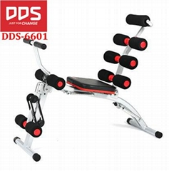 DDS 6601 Abdominal fitness equipment AB trainer King Pro rocket total core