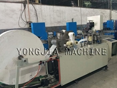 Handkerchief paper machine