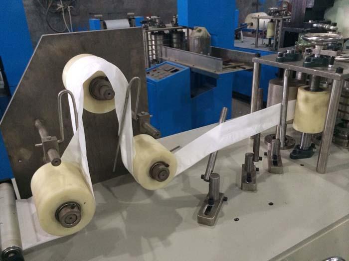 Handkerchief paper machine 2