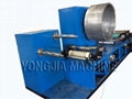 Smoke paper printing and gluing machine