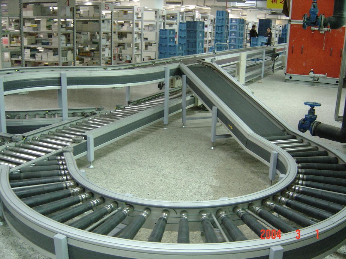 上海合率制造各类辊道输送机 3