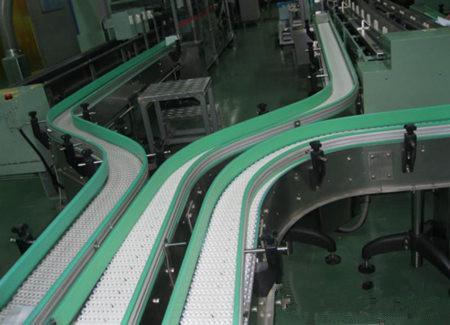 上海合率制造各类塑料网带输送机 5