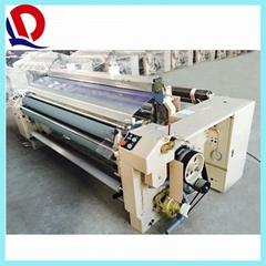 190cm double nozzle plain shedding water jet loom
