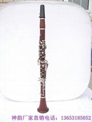 河北神韻廠家直銷批發17鍵紅木管體單簧管