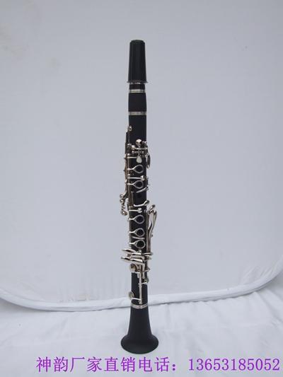 神韵厂家批发17键硬质胶木管体单簧管 1