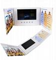 Hard Cover A5 Landscape 7'' Video Card TV Brochure