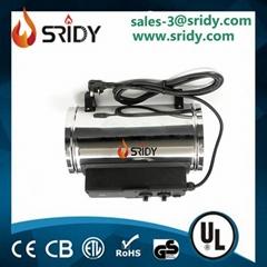 SRIDY Electric greenhouse heater fan heater 3 heat outputs 1kw 1.8kw & 2.8kw
