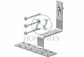 Honunity TechnologyStainless Steel Tile Roof Hook for Solar Rooftop Installation