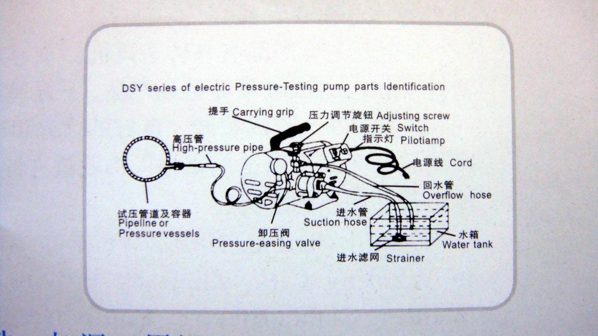 电动试压泵DSY-60 2
