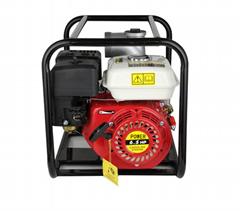 WP20新款红色铸铝汽油机 2寸小型农用园林灌溉泵家用抽水机