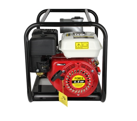 WP30新款红色铸铝汽油机 3寸小型农用园林灌溉泵家用抽水机自吸泵 1