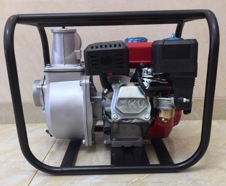 WP30新款红色铸铝汽油机 3寸小型农用园林灌溉泵家用抽水机自吸泵 4
