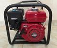 WP20新款红色铸铝汽油机 2寸小型农用园林灌溉泵家用抽水机自吸泵 4