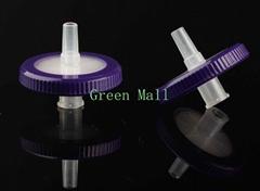 13mm/25mm Nylon66 Pes Mce PTFE PVDF Syringe Filter