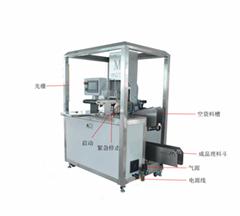 供应爆款输送带式面膜折叠包装生产机器薄膜自动包装机