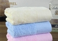 Customized Dobby Soft Hotel Face Towel