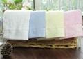 Customized Dobby Soft Hotel Face Towel 100% Cotton 2
