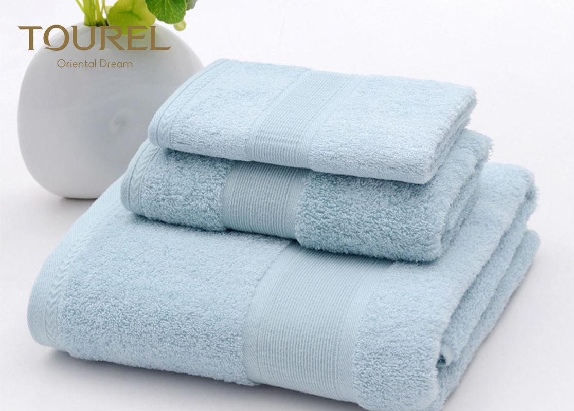 Luxury Spa Hotel Bath Towels 600g White Bath Towel 70x140 Cm 100% Cotton 1