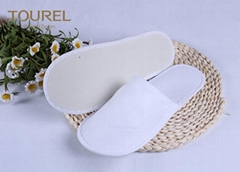 3mm EVA Nap Cloth Disposable Spa Slippers For Budget Hotel Bedroom Slippers