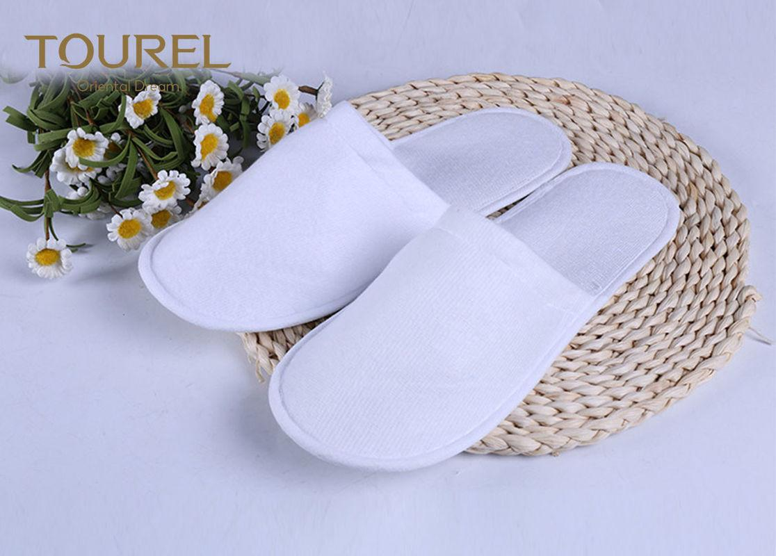 3mm EVA Nap Cloth Disposable Spa Slippers For Budget Hotel Bedroom Slippers 2
