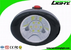 Rechargeable Led Headlamp , 149g Miners Light with 3.7V Lithium Ion Battery