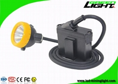 10000 Lux Led Mining Light Cap Lamp IP68 Miners Lantern Headlamp with Cable