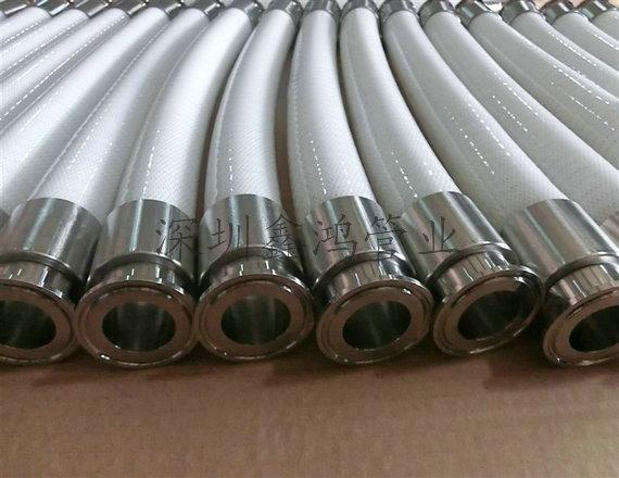 衛生級硅膠鋼絲軟管 1