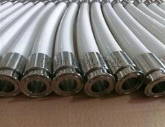 卫生级硅胶钢丝软管