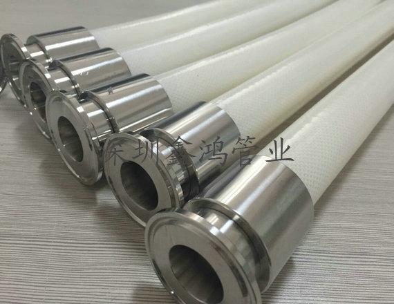 衛生級硅膠鋼絲軟管 3