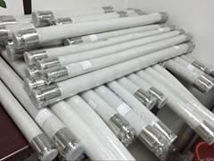 鉑金硫化夾布硅膠管