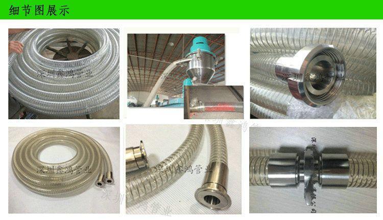 食品鋼絲軟管
