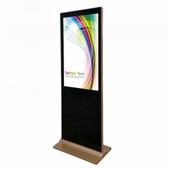 "55"" Rotation Touch Screen Kiosk Indoor and Outdoor Advertising LED Display Scree"