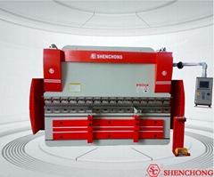 cnc hydraulic press brake steel bending machine sheet metal cutting and bending