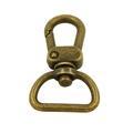Silver lock swivel hook for laptop bags 4