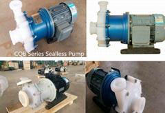 CQB Series  chemical Plastic Acid Pump for Corrosive fluids