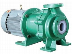 CQB-FT series Magnetic sealless heavy-duty chemical pump
