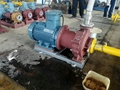 Caustic Soda Transfer Chemical Magnetic driven pump with flow capacity 25m3/h 0.