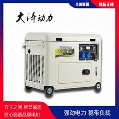 5kw靜音柴油發電機電啟動