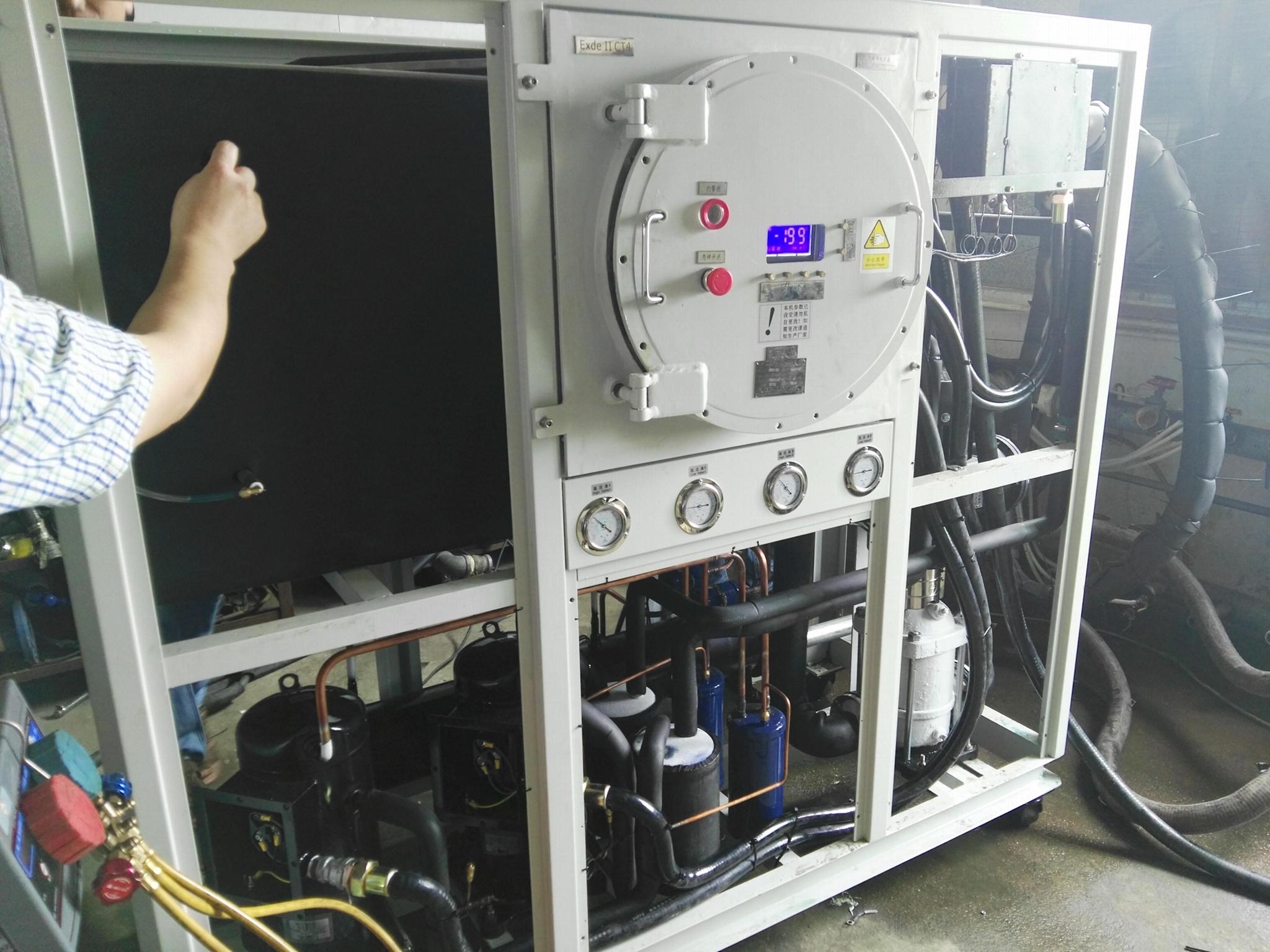本森智能廠家供應防爆型工業冷水機組 3